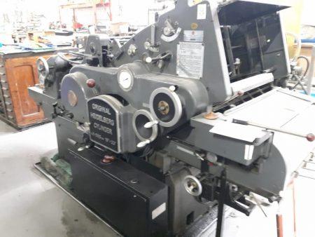 Automatic Die Cutter Heidelberg Cylinder Size18 inch 23 inch