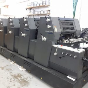 Heidelberg Offset Printing Press Model GTO 5 colors