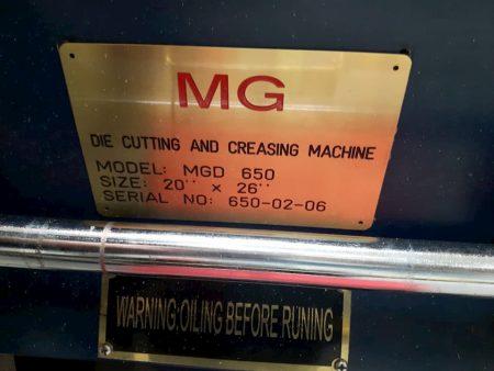 MG Manual Die Cutter 20 inch 26 inch 01
